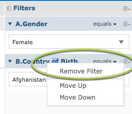 Remove Filter