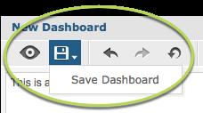 Save dashboard
